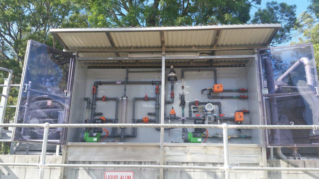 Alum Pump Panel