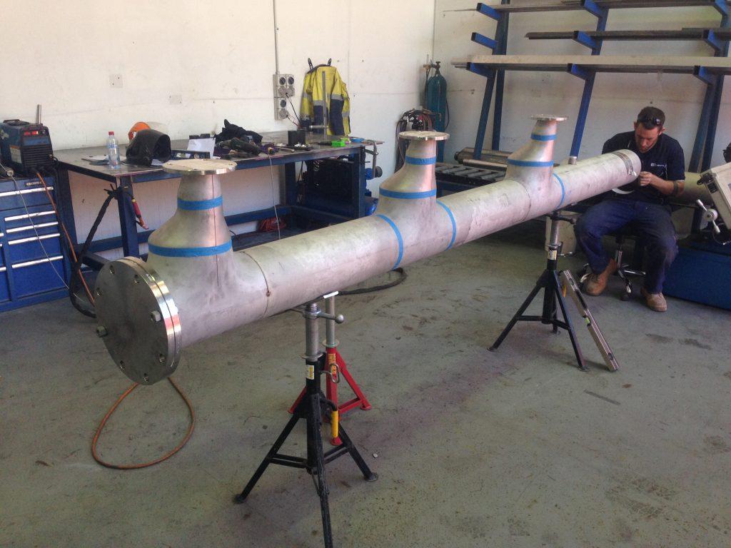 Steel Manifolds Fabrication