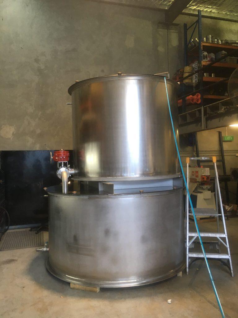 Mixing Tanks Fabrication