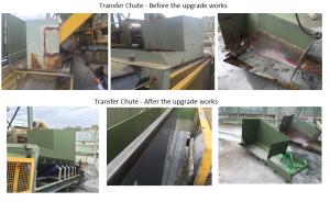Transfer Chute Upgrade